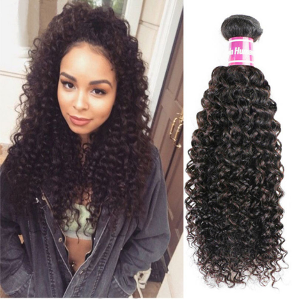 Deep Curly Hair Extensions 8a Unprocessed Indian Curly Virgin Hair 2